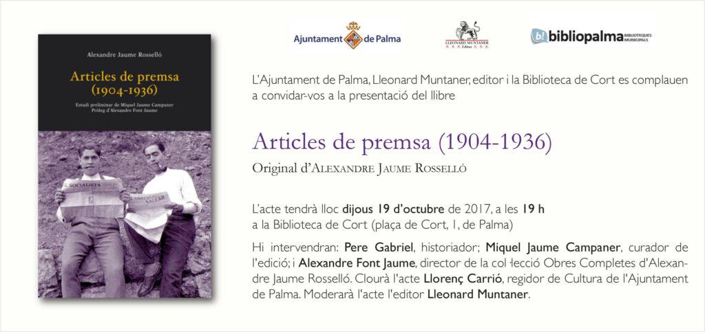 Convit_articles_alexandre jaume